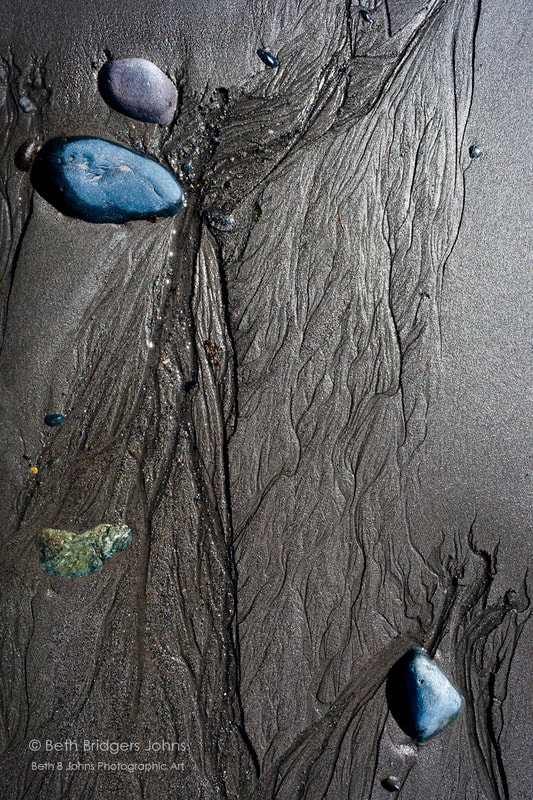 Rocks and Sand, Beth B Johns Photographic Art