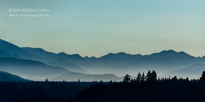 Olympic Mountains, Beth B Johns Photographic Art