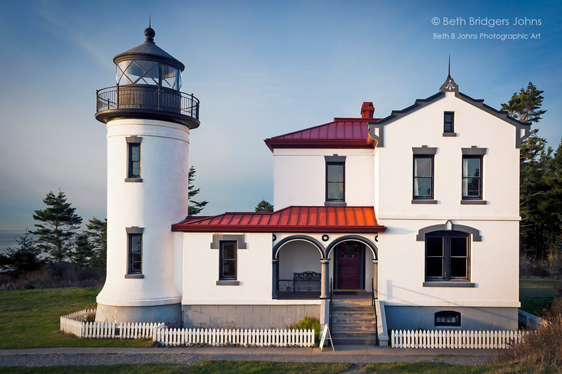 Admiralty Head Lighthouse, Beth B Johns Photographic Art
