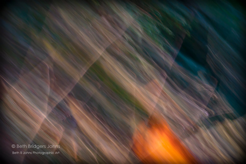 Light Abstract Photograph, Beth B Johns Photographic Art