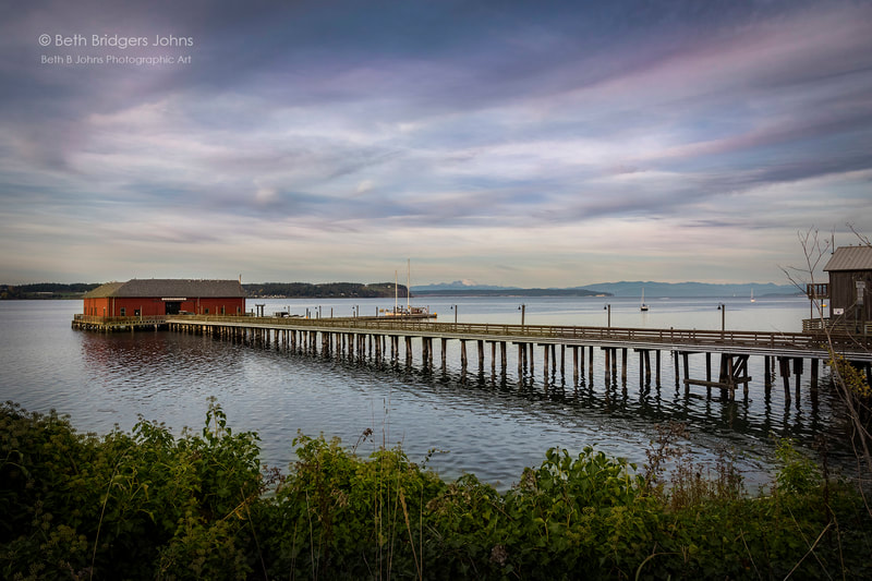 Coupeville, Penn Cove, Coupeville Wharf, Whidbey Island, Beth B Johns Photographic Art