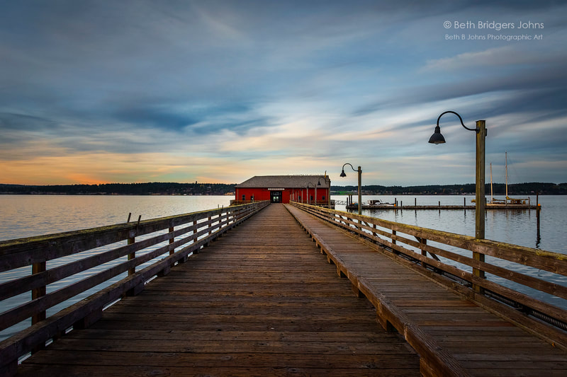 Coupeville, Penn Cove, Coupeville Wharf, Pier, Whidbey Island, Beth B Johns Photographic Art