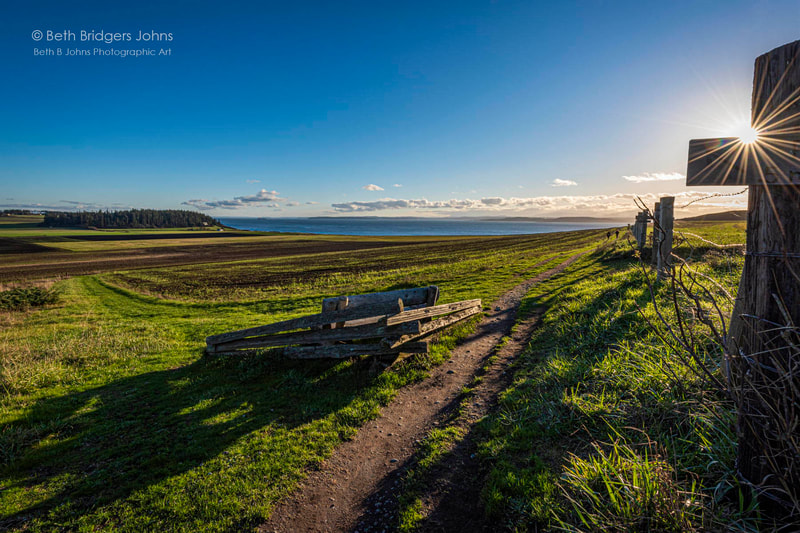 Ebey's Prairie, Ebey's Reserve, Whidbey Island, Beth B Johns Photographic Art