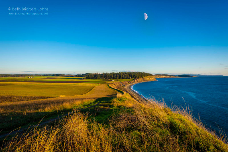 Ebey's Prairie, Ebey's Landing Reserve, Whidbey Island, Beth B Johns Photographic Art