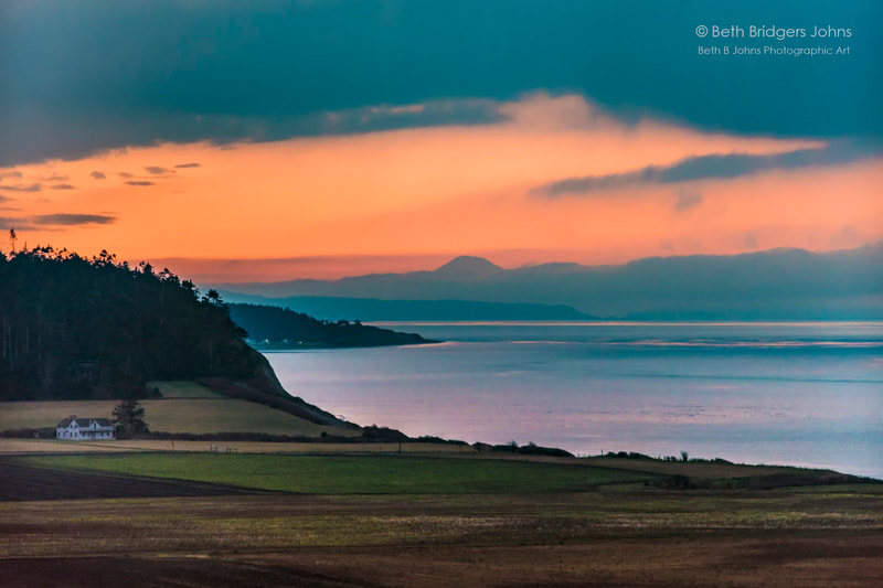 Ebey's Prairie, Ferry House, Ebey's Reserve, Whidbey Island, Beth B Johns Photographic Art