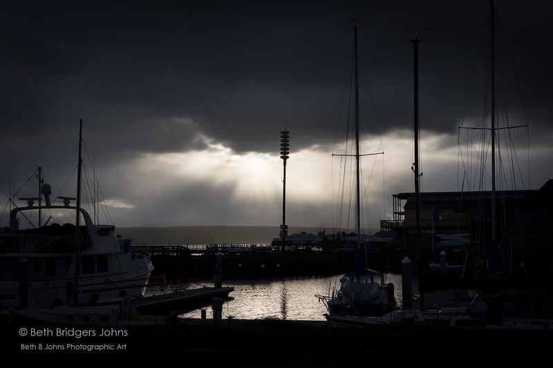 Point Hudson Marina, Port Townsend, Beth B Johns Photographic Art