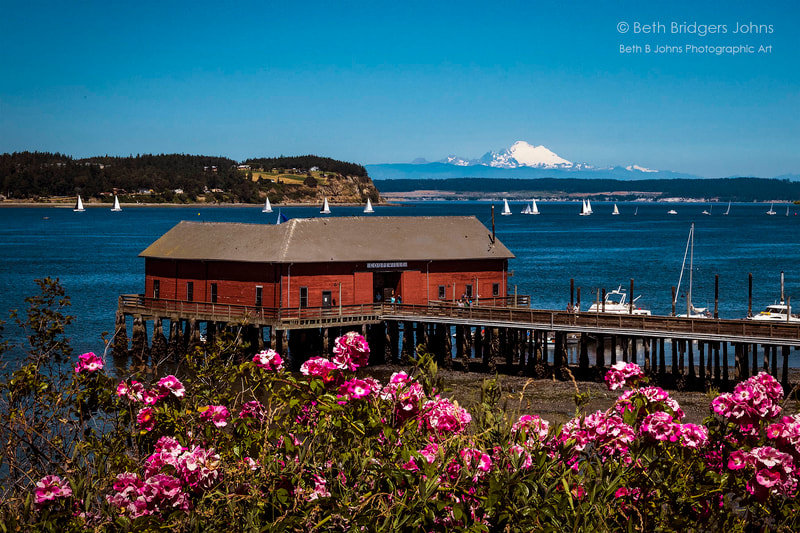 Coupeville, Race Week, Mount Baker, Race Week, Penn Cove, Whidbey Island, Beth B Johns Photographic Art