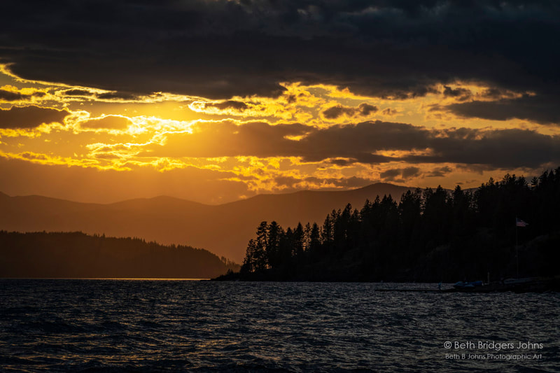Lake Pend Oreille, Beth B Johns Photographic Art