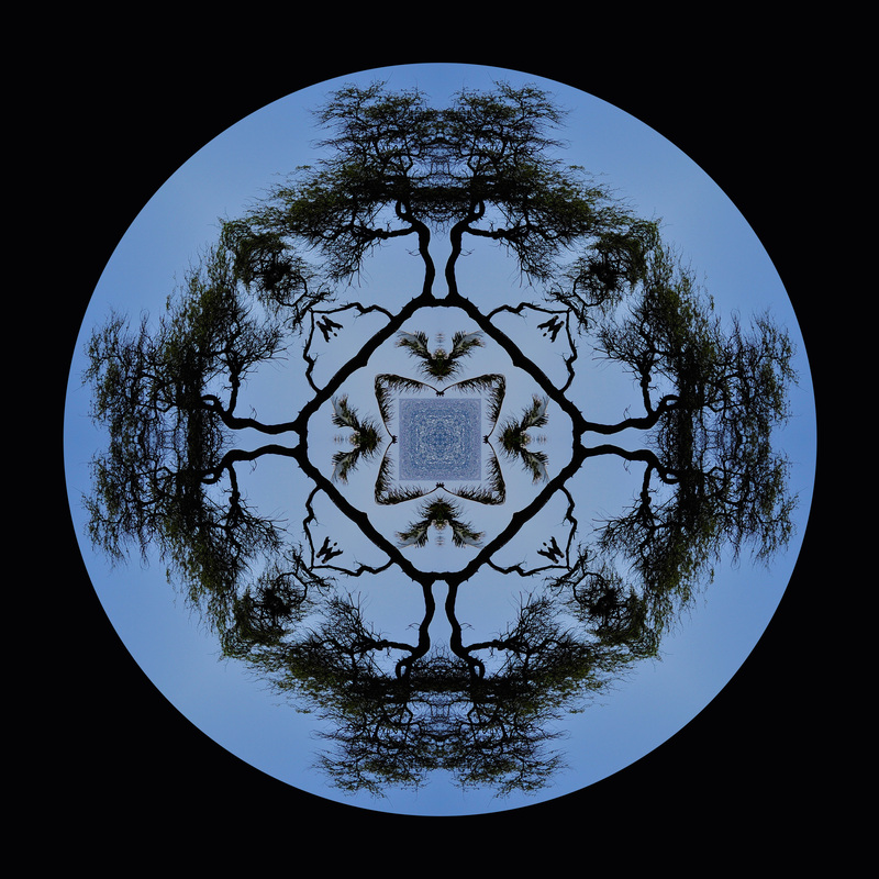 Kaleidoscopic Composite Mandala, Beth B Johns Photographic Art
